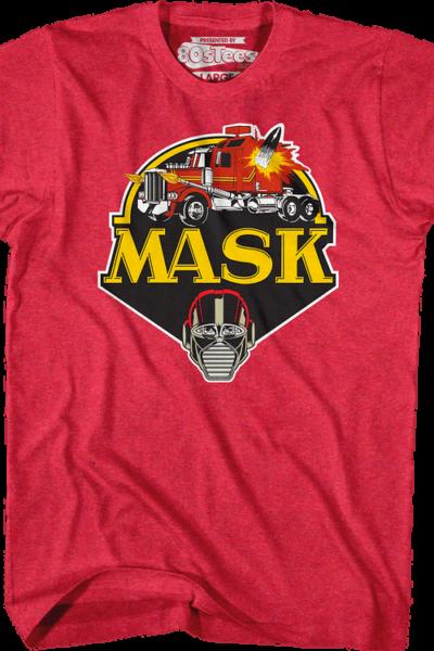 Retro Red Logo MASK
