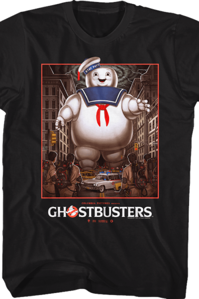 Stay Puft Marshmallow Man vs Ghostbusters