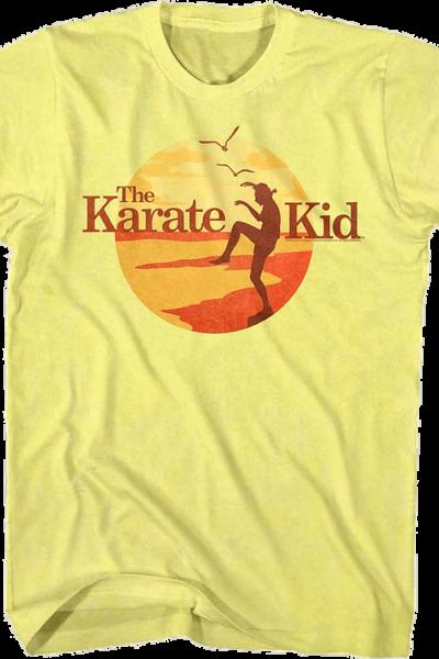 Sunset Crane Kick Karate Kid