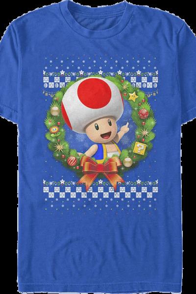 Toad Christmas Wreath Super Mario Bros.