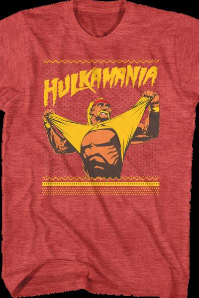Ugly Faux Knit Hulk Hogan Christmas