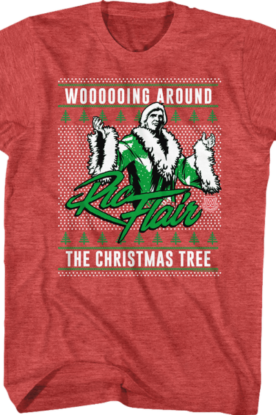 Ugly Faux Knit Ric Flair Christmas