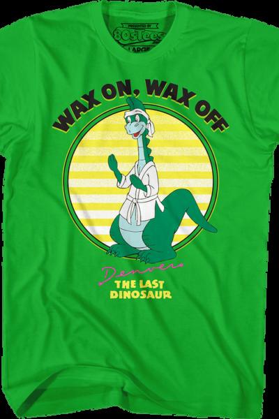 Wax On Wax Off Denver The Last Dinosaur