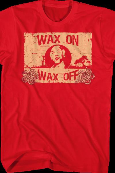 Wax On Wax Off Karate Kid