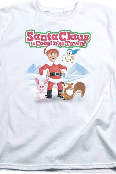 Womens Santa Claus Is Comin' To Town