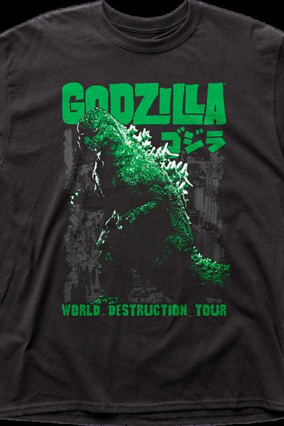 World Destruction Tour Godzilla