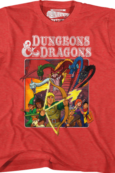Youth Cartoon Characters Dungeons & Dragons