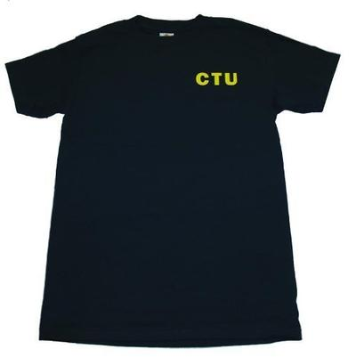 24 Jack Bauer Navy CTU T-shirt