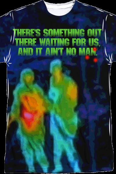 Aint No Man Predator Sublimation Shirt