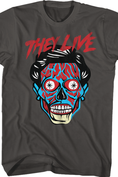 Alien They Live T-Shirt