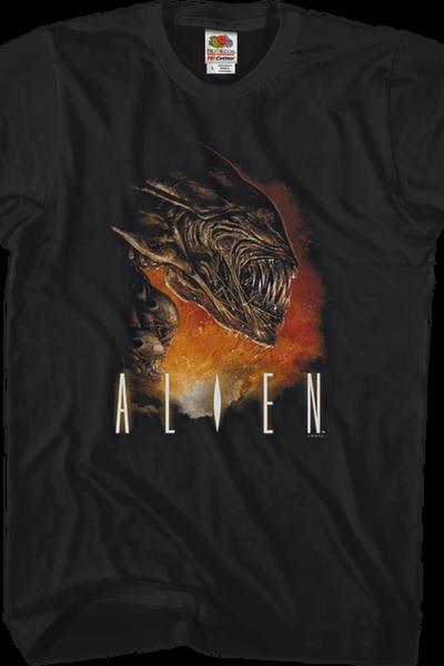 Angry Xenomorph Alien T-Shirt