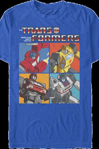 Autobot Panels Transformers T-Shirt