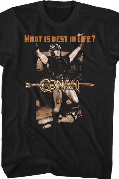 Best In Life Conan the Barbarian T-Shirt