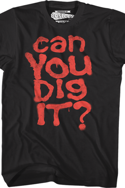 Black Can You Dig It Warriors T-Shirt