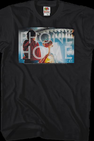 Black Phone Home ET Shirt