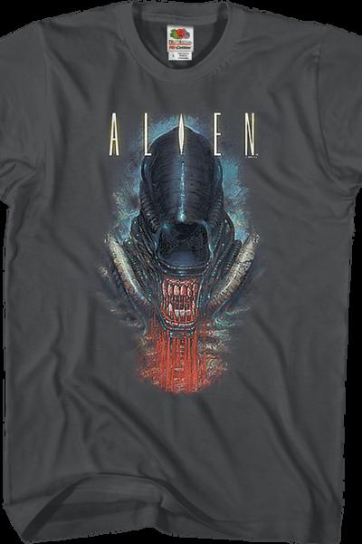 Bloody Jaw Alien T-Shirt