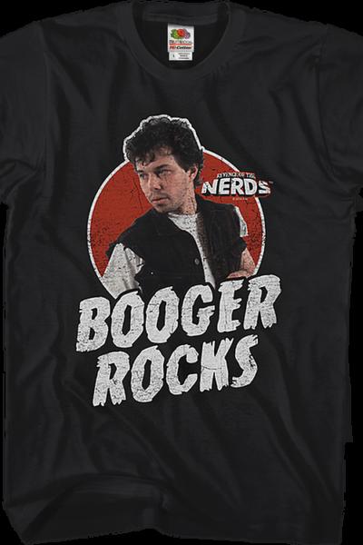 Booger Rocks Revenge of the Nerds T-Shirt