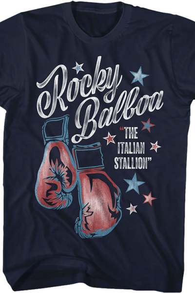 Boxing Gloves Rocky T-Shirt