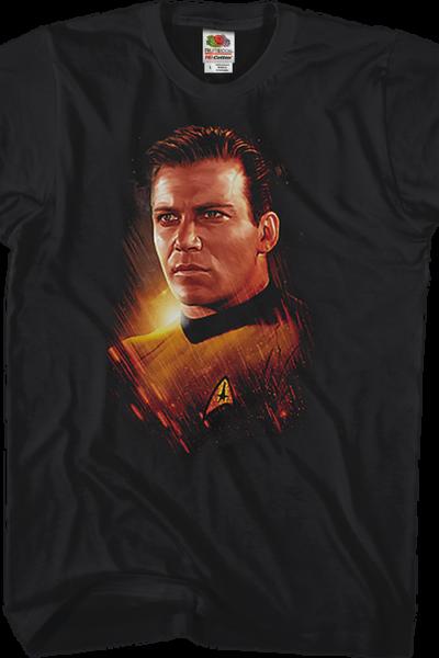Captain James T. Kirk Star Trek T-Shirt