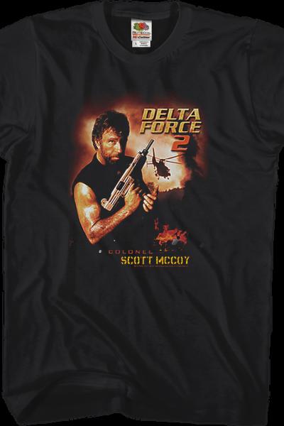 Chuck Norris Delta Force 2 T-Shirt