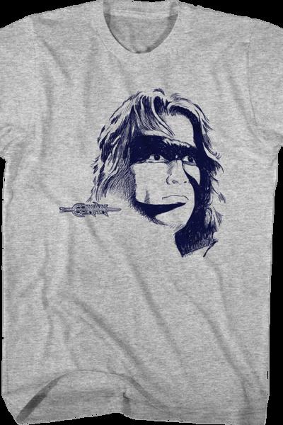 Cimmerian Sketch Conan The Barbarian T-Shirt