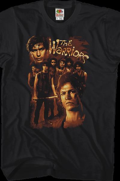 Collage Warriors T-Shirt
