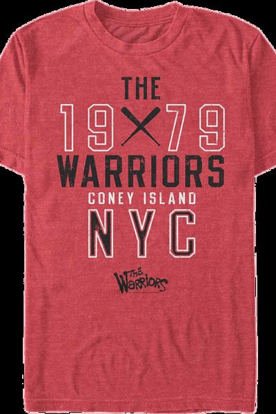 Collegiate Text The Warriors T-Shirt