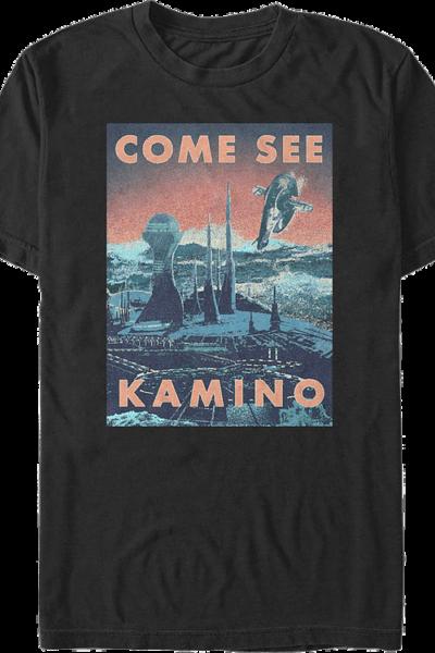 Come See Kamino Star Wars T-Shirt