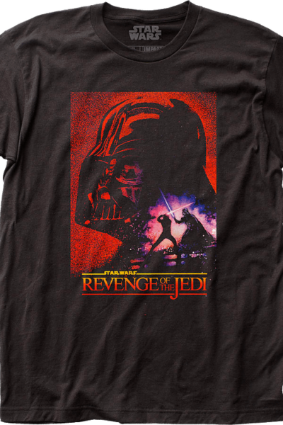 Darth Vader vs Luke Skywalker Return of the Jedi Star Wars T-Shirt