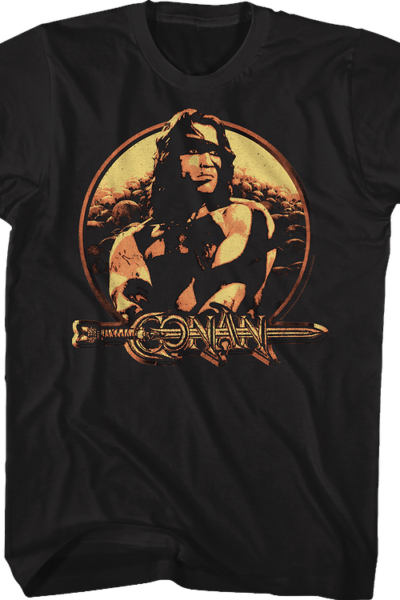 Distressed Conan The Barbarian T-Shirt
