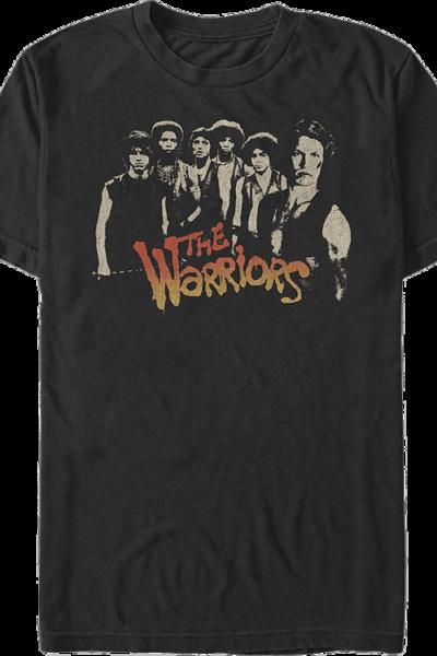 Distressed Members Warriors T-Shirt