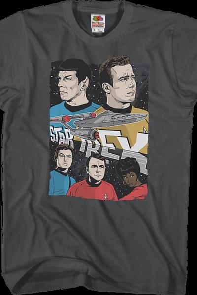 Enterprise Crew Star Trek T-Shirt