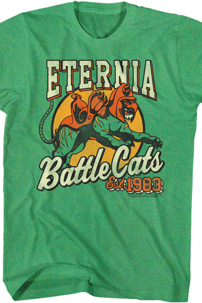 Eternia Battle Cats Masters of the Universe T-Shirt