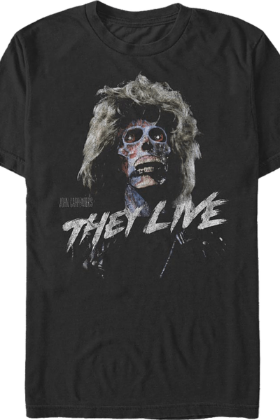 Female Alien They Live T-Shirt