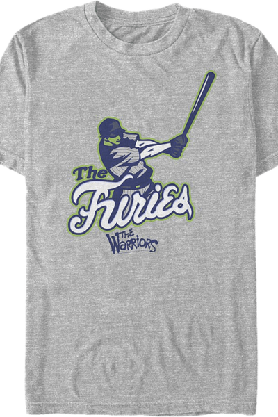 Furies Swing For The Fences Warriors T-Shirt