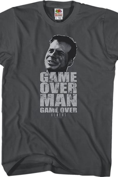 Game Over Man Aliens T-Shirt