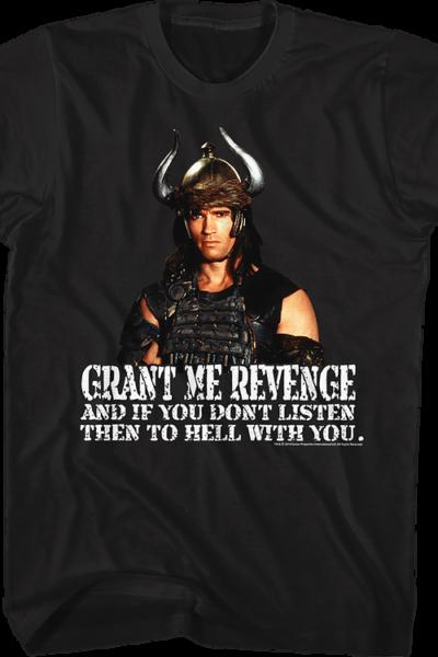 Grant Me Revenge Conan The Barbarian Shirt