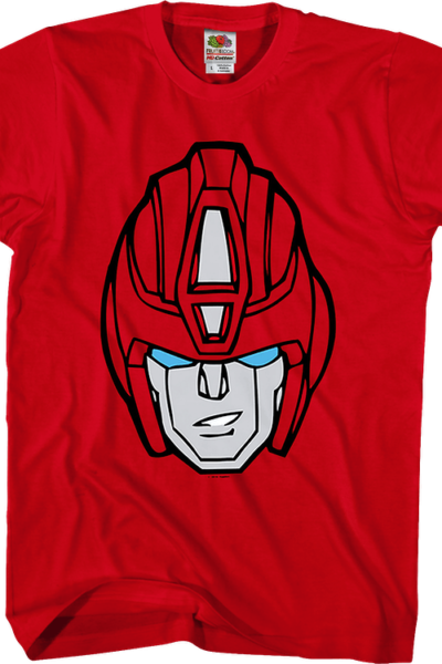 Hot Rod Head Shot Transformers T-Shirt
