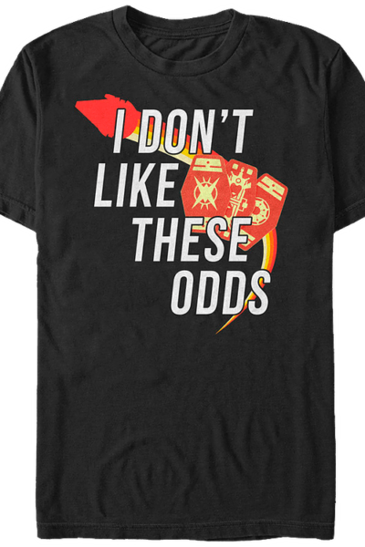 I Don't Like These Odds Solo Star Wars T-Shirt