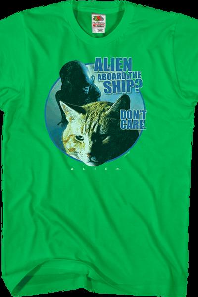 Jones Don't Care Alien Shirt