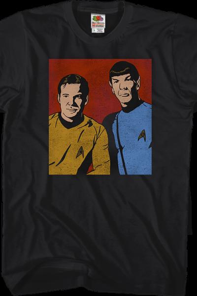 Kirk and Spock Star Trek T-Shirt