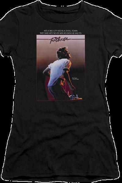 Ladies Footloose Poster T-Shirt
