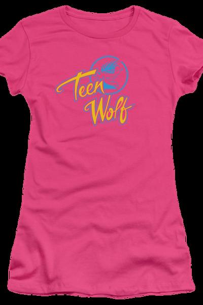 Ladies Pink Teen Wolf Shirt