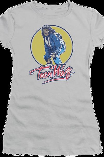 Ladies Van Surfing Teen Wolf Shirt