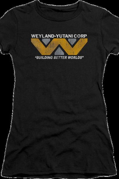 Ladies Weyland-Yutani Corp Alien Shirt