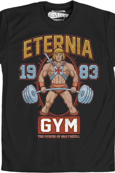 MOTU Eternia Gym He-Man T-Shirt