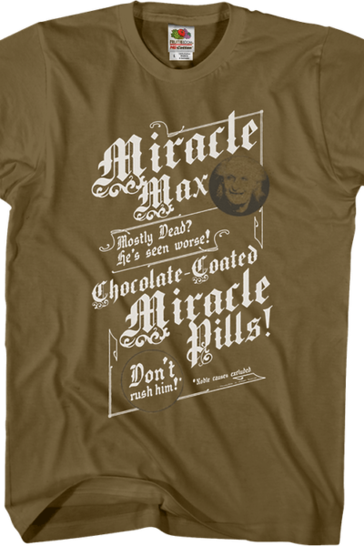 Miracle Max Princess Bride Shirt