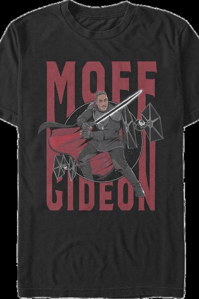Moff Gideon Action Pose The Mandalorian Star Wars T-Shirt