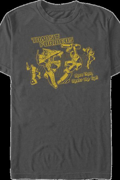 More Than Meets The Eye Transformers T-Shirt