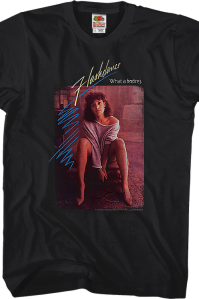 Movie Poster Flashdance T-Shirt